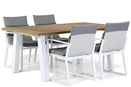 Lifestyle Treviso/Glasgow 180 cm dining tuinset 5-delig