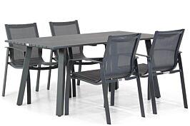Lifestyle Gregorio/Villagio 170 cm dining tuinset 5-delig