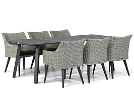 Garden Collections Milton/Villagio 230 cm dining tuinset 7-delig