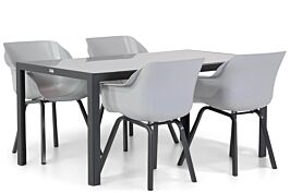 Hartman Sophie element/Mondello 160 cm dining tuinset 5-delig