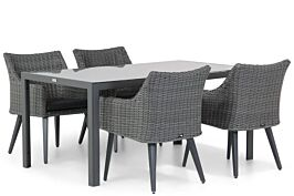 Garden Collections Milton/Mondello 160 cm dining tuinset 5-delig