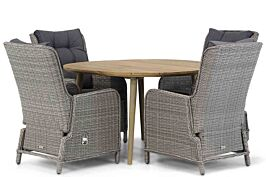 Garden Collections Kingston/Julia 120 cm rond dining tuinset 5-delig