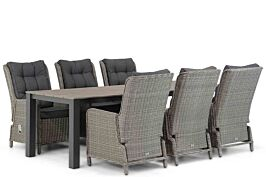 Garden Collections Kingston/Valley 240 cm dining tuinset 7-delig