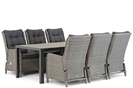Garden Collections Kingston/Young 217 cm dining tuinset 7-delig