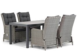 Garden Collections Kingston/Residence 164 cm dining tuinset 5-delig