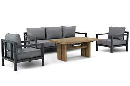 Lifestyle Lagos/Brighton stoel-bank loungeset 4-delig