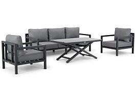 Lifestyle Lagos/Palazzo stoel-bank loungeset 4-delig