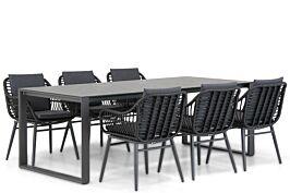 Coco Leonardo/Zaga 220 cm dining tuinset 7-delig