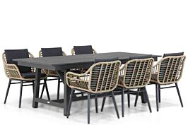 Coco Leonardo/General 217/277 cm dining tuinset 7-delig