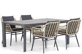 Coco Leonardo/Lido 180 cm dining tuinset 5-delig