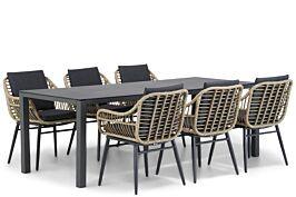 Coco Leonardo/Pallazo 220 cm dining tuinset 7-delig