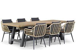 Coco Leonardo/Trente 260 cm dining tuinset 7-delig