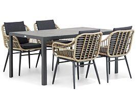 Coco Leonardo/Varano 160 cm dining tuinset 5-delig