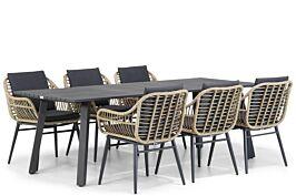 Coco Leonardo/Villagio 230 cm dining tuinset 7-delig