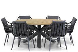 Coco Leonardo/Rockville 160 cm dining tuinset 7-delig