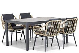 Coco Leonardo/Residence 164 cm dining tuinset 5-delig