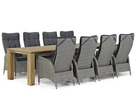 Garden Collections Lincoln/Brighton 300 cm dining tuinset 9-delig