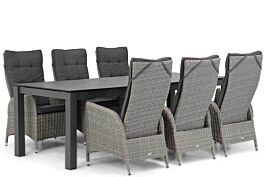 Garden Collections Lincoln/Yukon 240 cm dining tuinset 7-delig