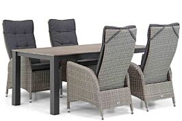 Garden Collections Lincoln/Valley 180 cm dining tuinset 5-delig