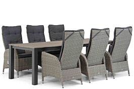 Garden Collections Lincoln/Valley 240 cm dining tuinset 7-delig