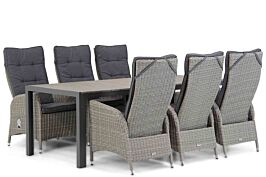 Garden Collections Lincoln/Young 217 cm dining tuinset 7-delig