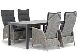 Garden Collections Lincoln/Residence 164 cm dining tuinset 5-delig