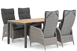 Garden Collections Lincoln/Mazzarino 160 cm dining tuinset 5-delig