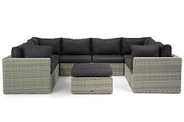Garden Collections Comodo U-vorm loungeset 9-delig