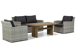 Garden Collections Giardino/Brighton stoel-bank loungeset 4-delig