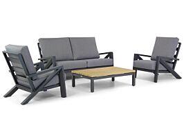 Santika Cinta/Riviera stoel-bank loungeset 4-delig