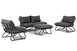 Lifestyle Bologna stoel-bank loungeset 4-delig