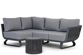 Santika Corniche chaise longue loungeset 4-delig links