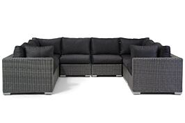 Garden Collections Toronto U-vorm loungeset 8-delig