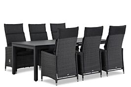 Garden Collections Madera/Concept 220 cm dining tuinset 7-delig