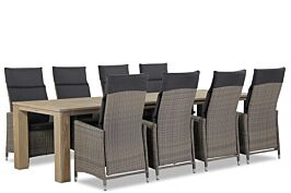 Garden Collections Madera/Brighton 300 cm dining tuinset 9-delig