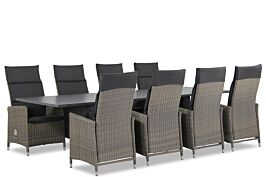 Garden Collections Madera/Graniet 300 cm dining tuinset 9-delig