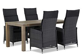 Garden Collections Madera/Bristol 180 cm dining tuinset 5-delig