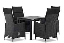 Garden Collections Madera/Concept 90 cm dining tuinset 5-delig