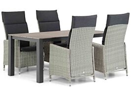 Garden Collections Madera/Valley 180 cm dining tuinset 5-delig
