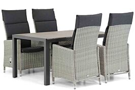 Garden Collections Madera/Young 155cm dining tuinset 5-delig
