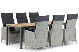 Garden Collections Madera/Mazzarino 220 cm dining tuinset 7-delig