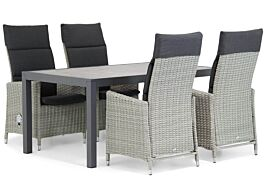Garden Collections Madera/Residence 164 cm dining tuinset 5-delig