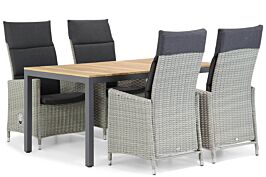 Garden Collections Madera/Mazzarino 160 cm dining tuinset 5-delig
