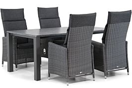 Garden Collections Madera/Munster 180 cm dining tuinset 5-delig