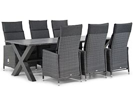 Garden Collections Madera/Calgary 240 cm dining tuinset 7-delig