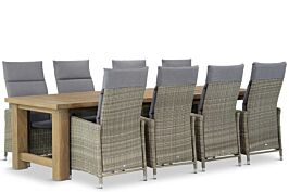 Garden Collections Madera/ Fourmile 300 cm dining tuinset 9-delig