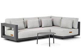 4 Seasons Outdoor Metropolitan/Coco Pacific 60 cm hoek loungeset 3-delig