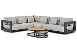 4 Seasons Outdoor Metropolitan/Westfield hoek loungeset 4-delig