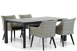 Garden Collections Milton/Lido 180 cm dining tuinset 5-delig