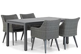 Garden Collections Milton/Concept 160 cm dining tuinset 5-delig